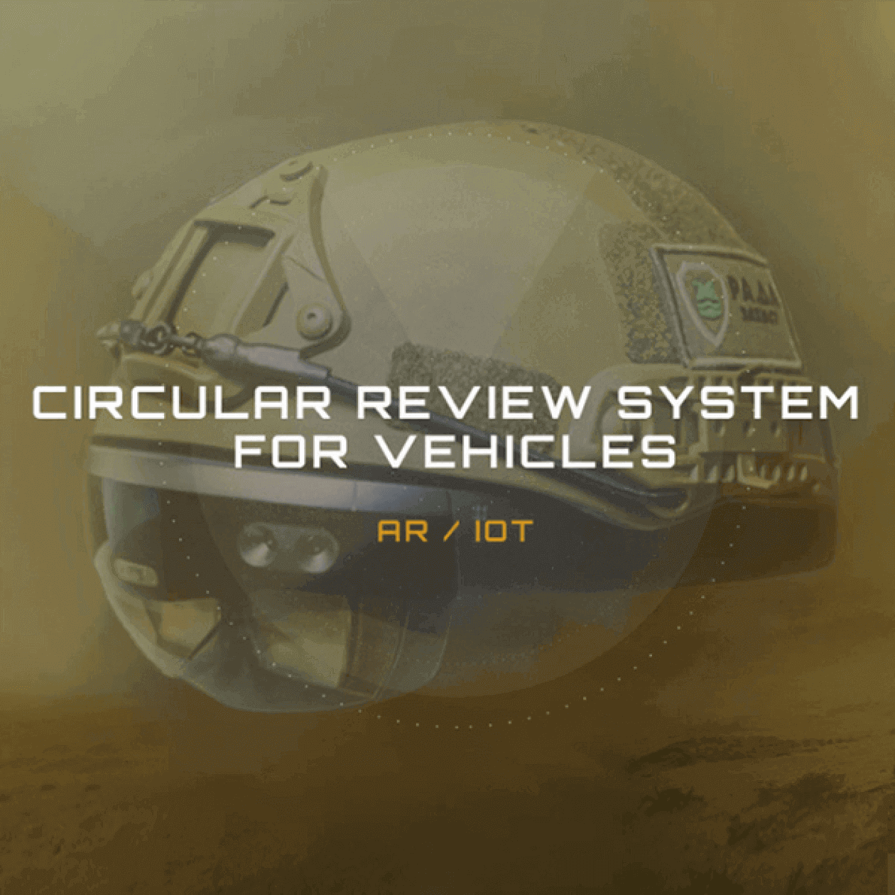 Circular review system vehicles